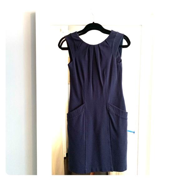BCBG Dresses & Skirts - Mini BCBG Navy Dress!